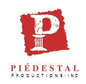Logo Piedestal Productions inc.